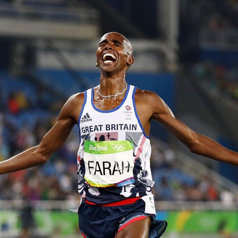 vận động viên điền kinh Mo Farah