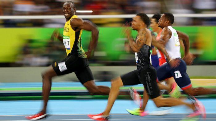 van dong vien Usain Bolt